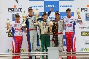 DKM podium: Guust 3e DKM2 Wackersdorf 29-6-2014