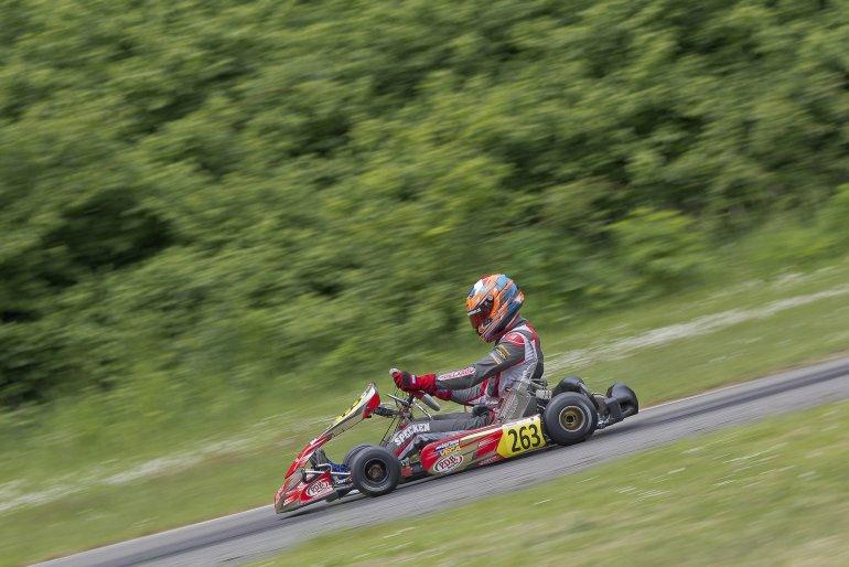 Guust rijdt DKM en CIK FIA EK en CIK FIA WK in 2018